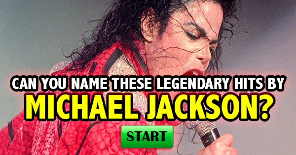 Can You Name These Legendary Hits By Michael Jackson?