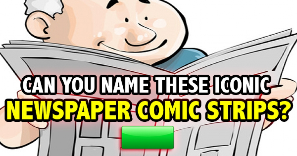 Can You Name These Iconic Newspaper Comic Strips?
