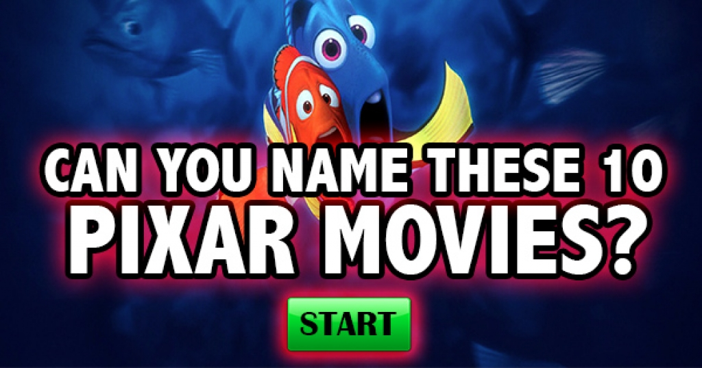 Can You Name These Pixar Movies?