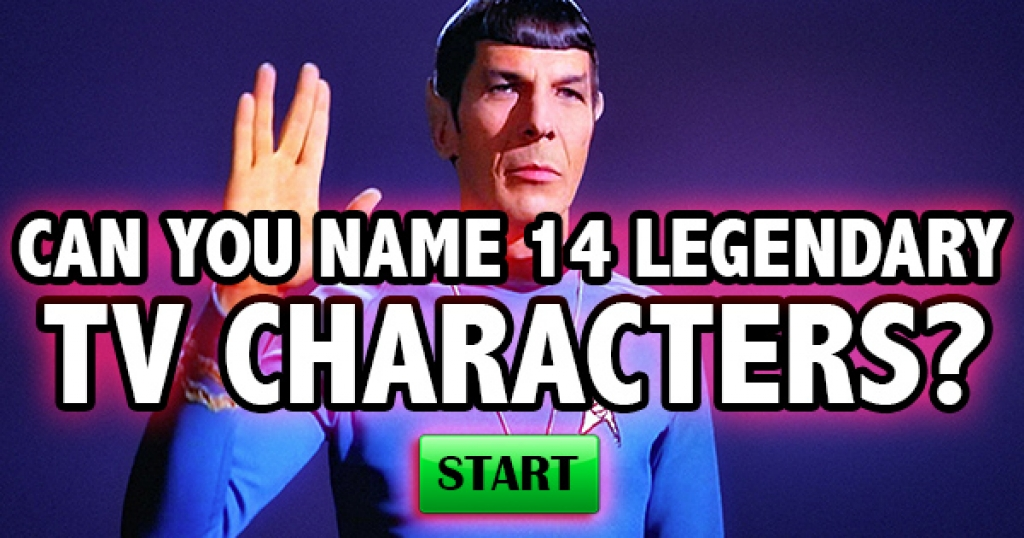 Can You Name 14 Legendary TV Characters?