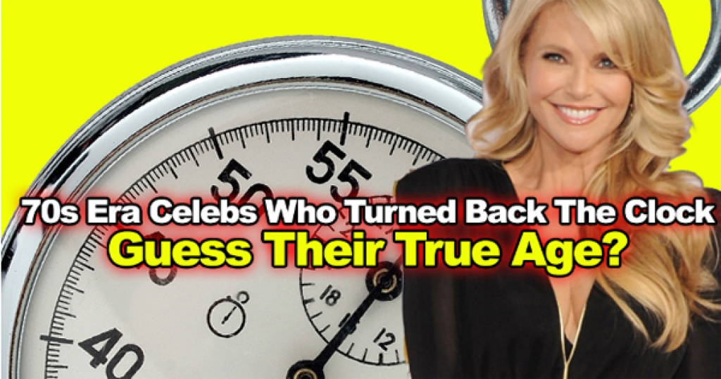 70s Era Celebs Who Turned Back The Clock. Guess Their True Age!