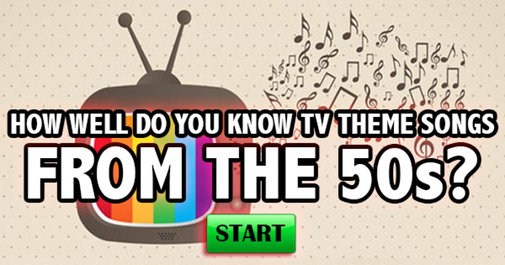 How Well Do You Know TV Theme Songs From The 1950s?