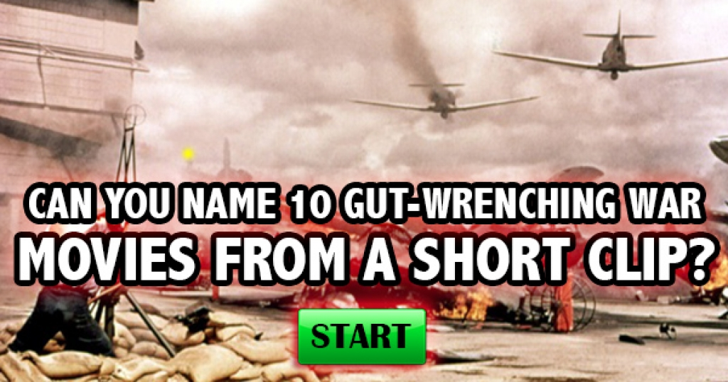 Can You Name 10 Gut-Wrenching War Movies From A Short Clip?
