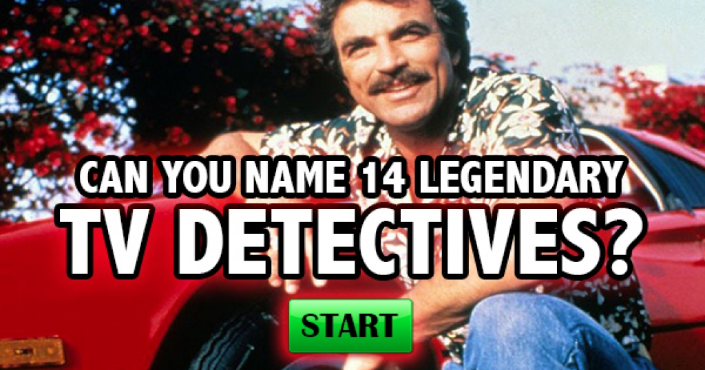 Can You Name 14 Legendary TV Detectives?