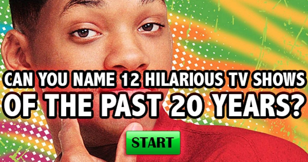 Can You Name 12 Hilarious TV Shows Of The Past 20 Years?