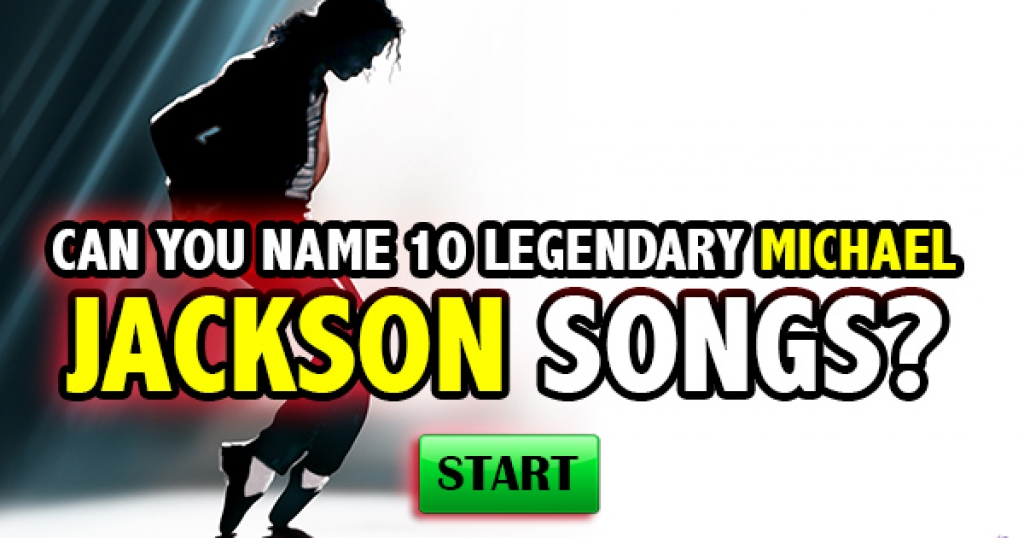 Can You Name 10 Legendary Michael Jackson Songs?