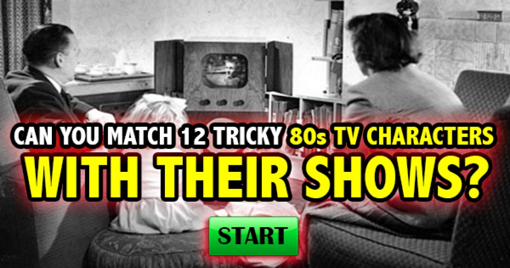 Quizfreak - Can You Match 12 Tricky 80s TV Characters With