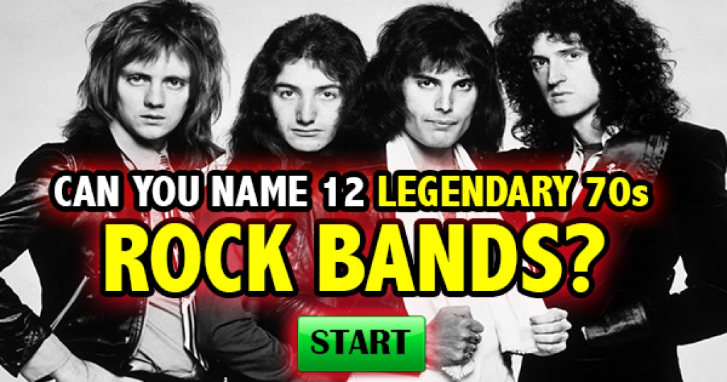 Can You Name 12 Legendary 70s Rock Bands?