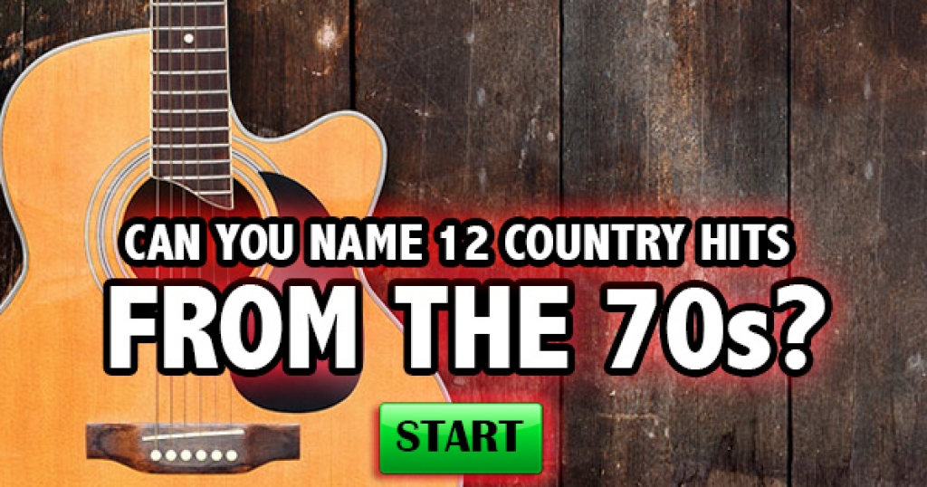 Can You Name 12 Country Hits From The 70s?