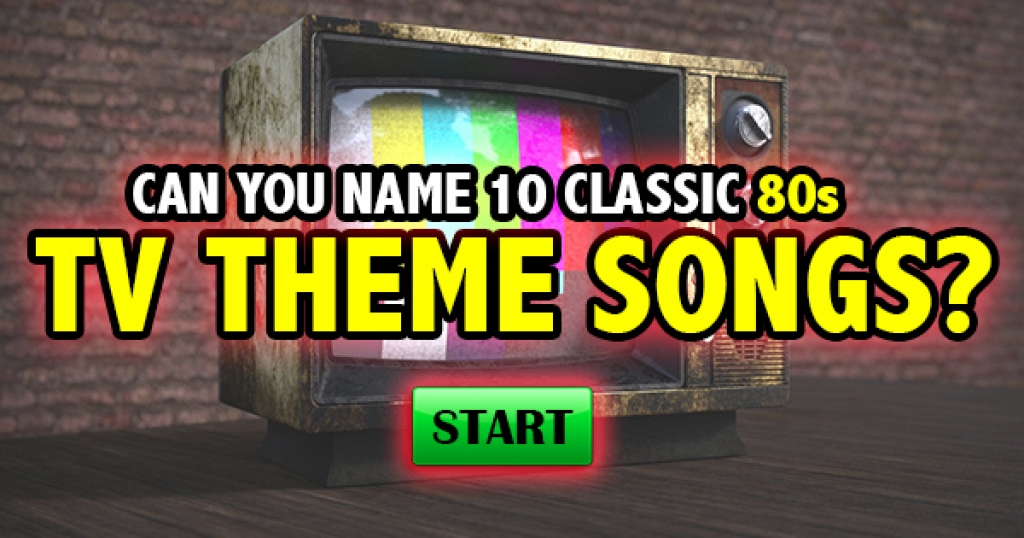 Can You Name 10 Classic 80s TV Theme Songs?