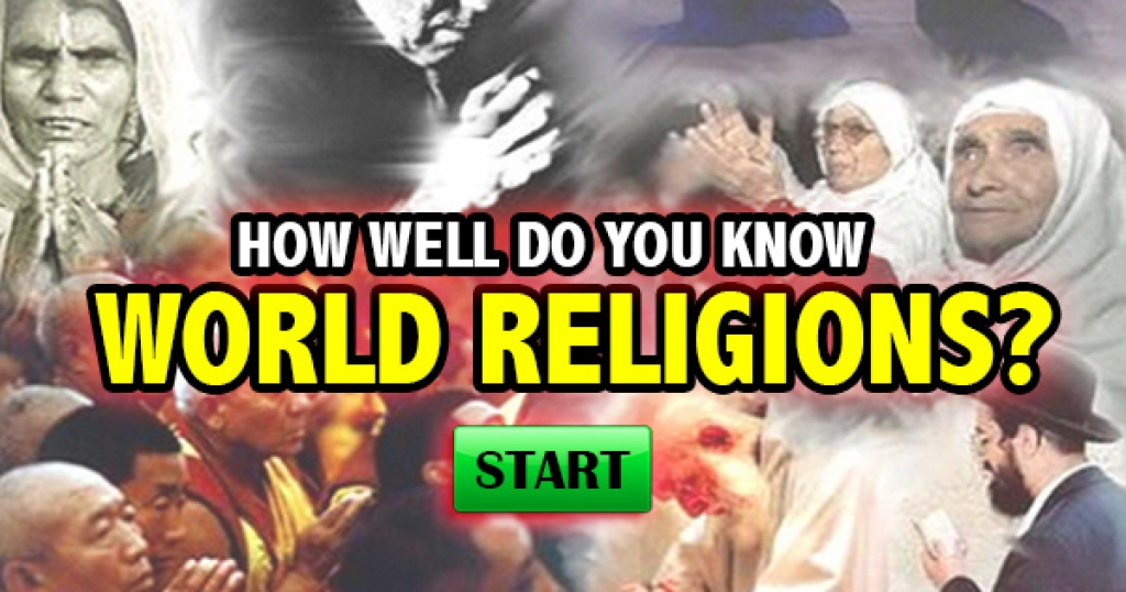 How Well Do You Know World Religions?