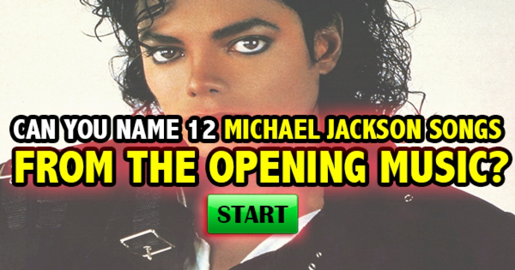 Can You Name 12 Michael Jackson Songs From The Opening Music?
