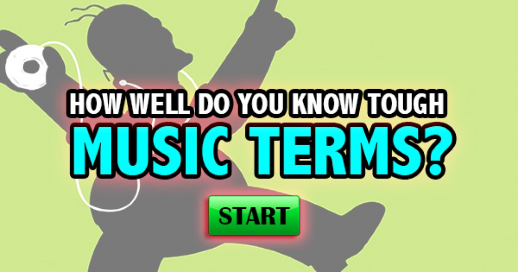 How Well Do You Know Tough Music Terms?