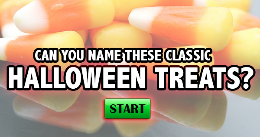 Can You Name These Classic Halloween Treats?
