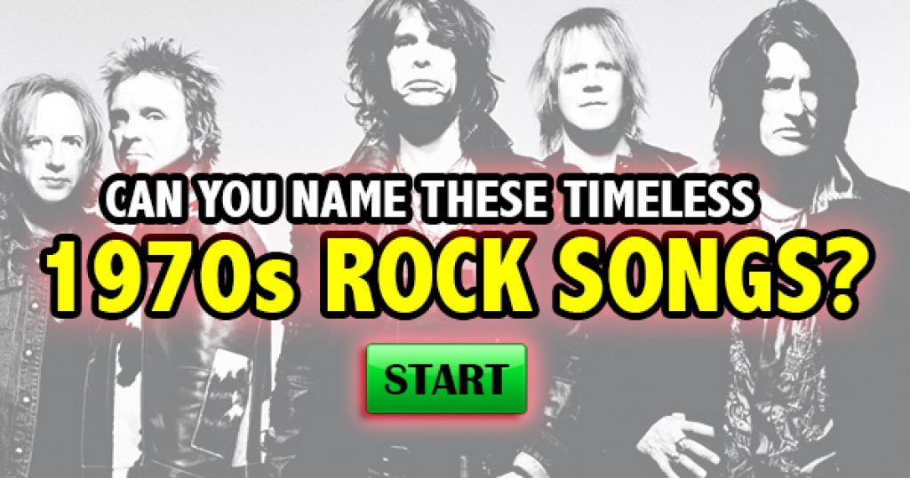 Can You Remember These Timeless 1970s Rock Songs?