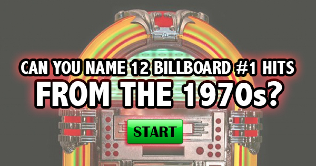 Can You Name 12 Billboard #1 Hits From The 1970s?