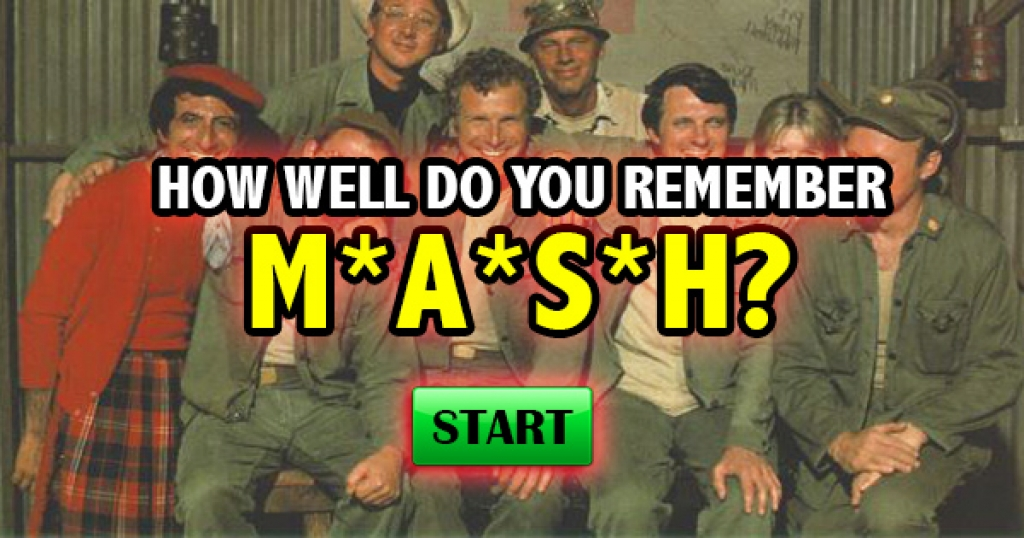 How Well Do You Remember M*A*S*H?
