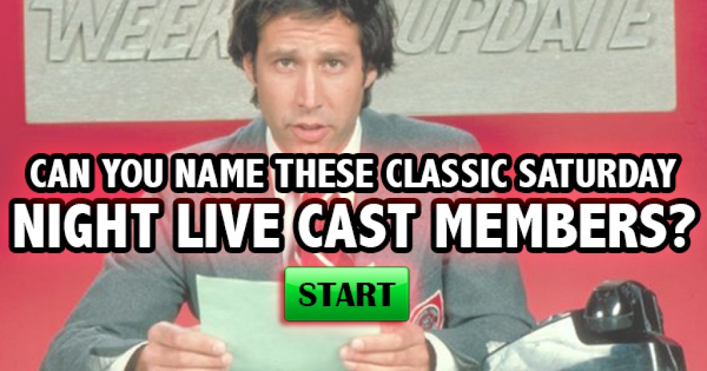 Can You Name These Classic Saturday Night Live Cast Members?