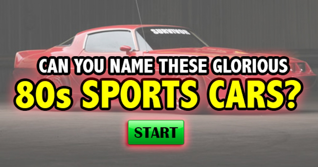 Quizfreak Can You Name These Glorious S Sports Cars - Sports cars quiz