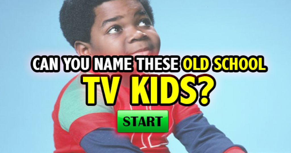 Can You Name These Old School TV Kids?