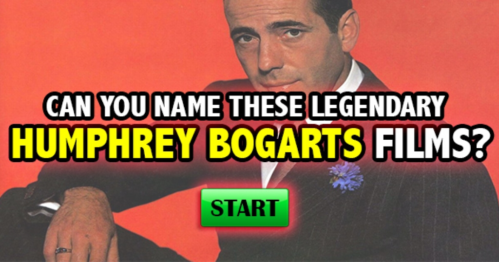 Can You Name These Legendary Humphrey Bogart Films?