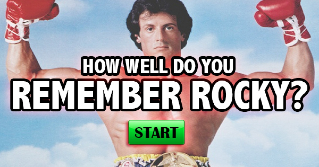 How Well Do You Remember Rocky?