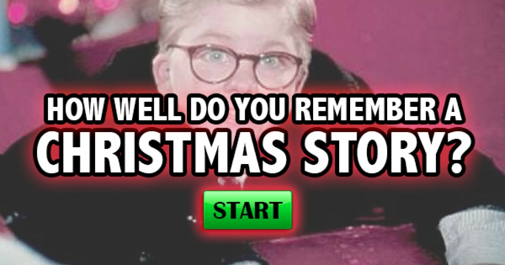 How Well Do You Remember A Christmas Story?