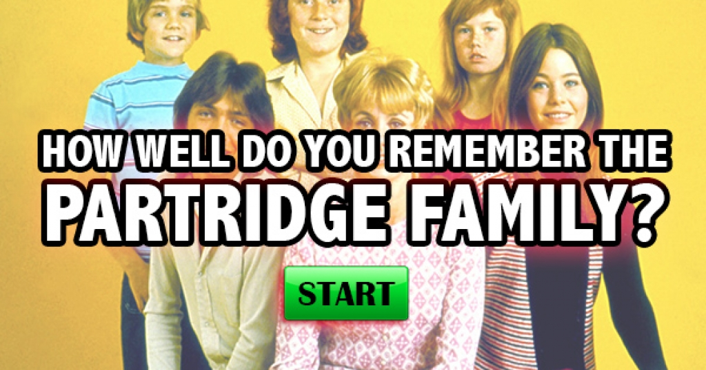 How Well Do You Remember The Partridge Family?
