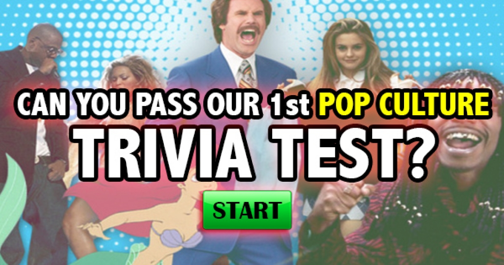 Can You Pass Our 1st Pop Culture Trivia Test?