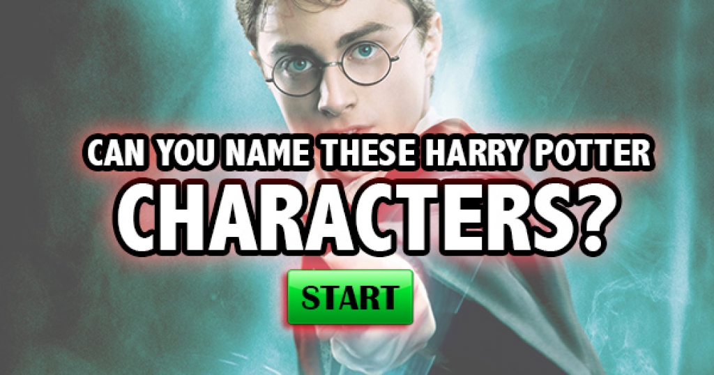 Can You Name These Harry Potter Characters?