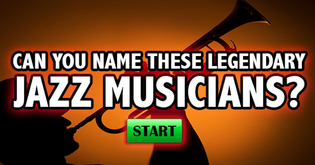 Can You Name These Legendary Jazz Musicians?