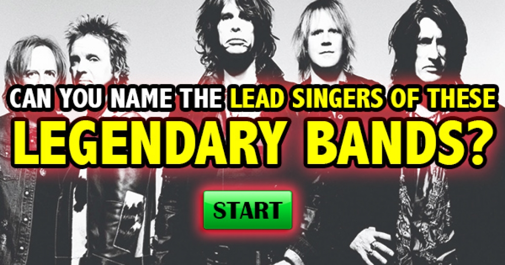 Can You Name The Lead Singers of These Legendary Bands?