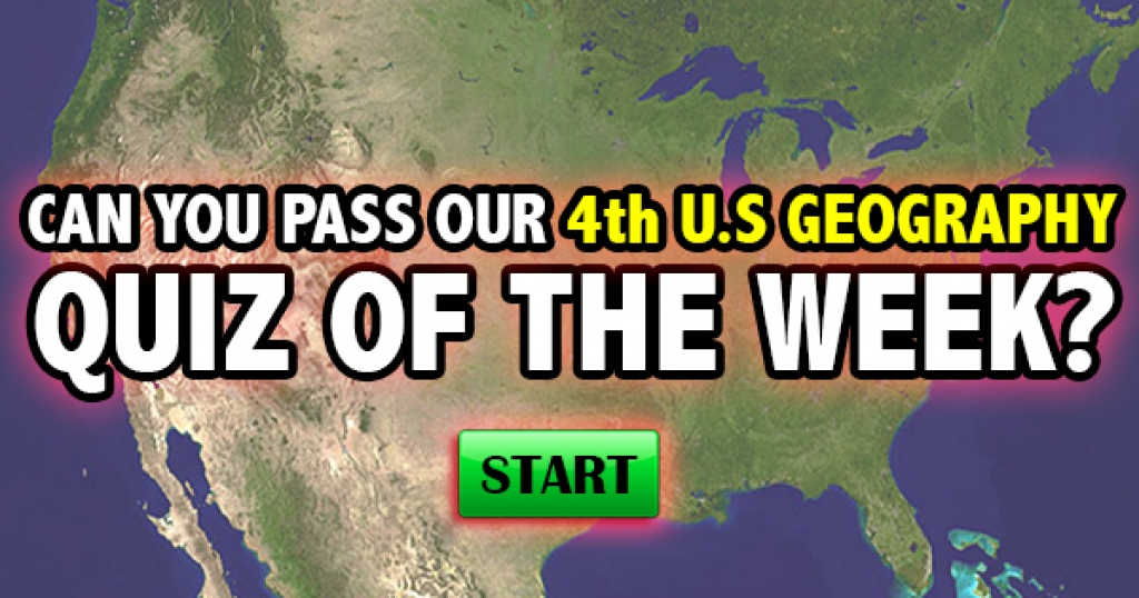 Can You Pass Our 4th U.S. Geography Quiz of the Week?