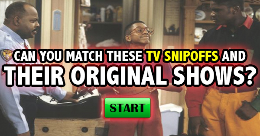 Can You Match These TV Spinoffs and Their Original Shows?