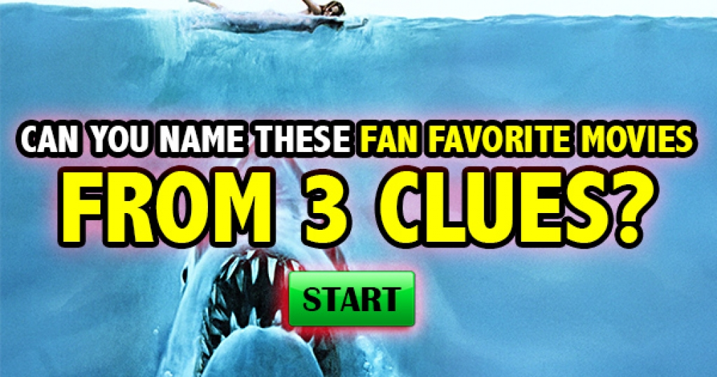 Can You Name These Fan Favorite Movies From 3 Clues?
