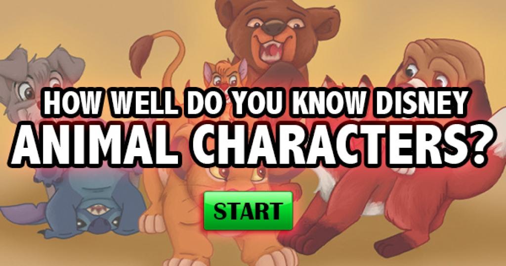 How Well Do You Know Disney Animal Characters?