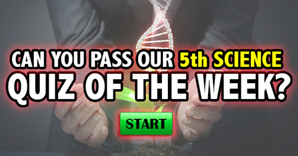 Can You Pass Our 5th Science Quiz Of The Week?