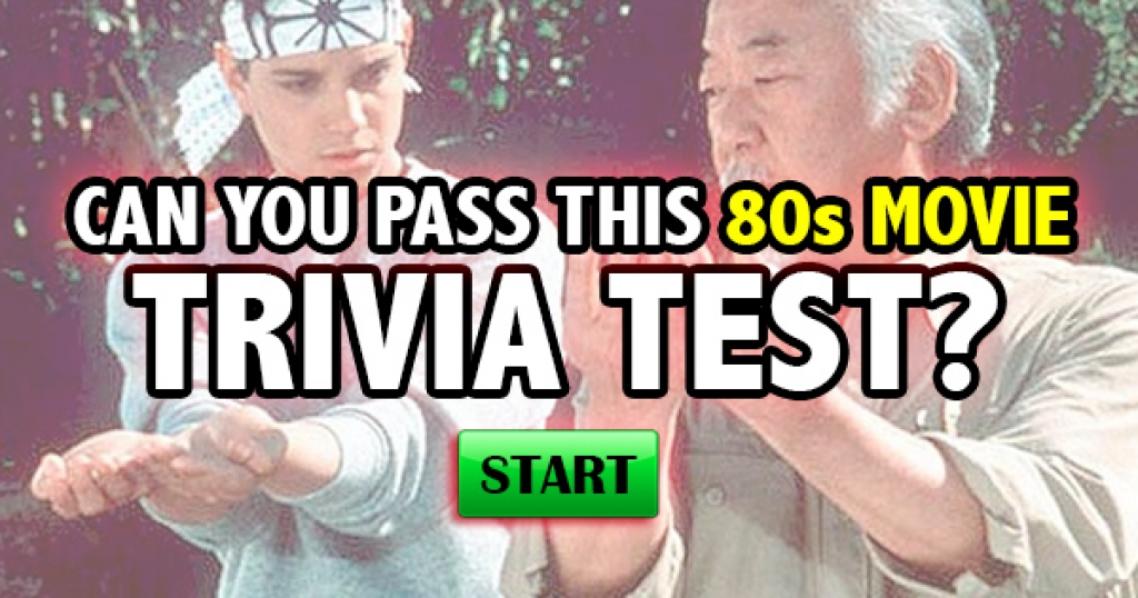 Can You Pass This 80s Movie Trivia Test?