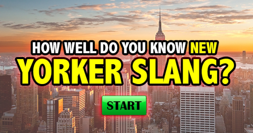 How Well Do You Know New Yorker Slang?