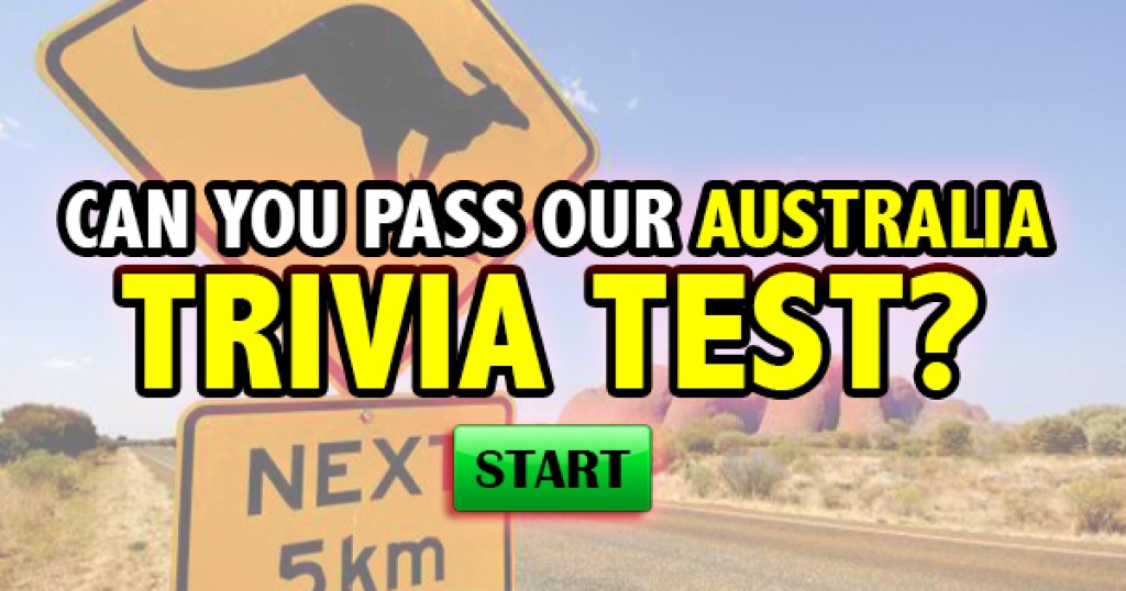 Can You Pass Our Australia Trivia Test?