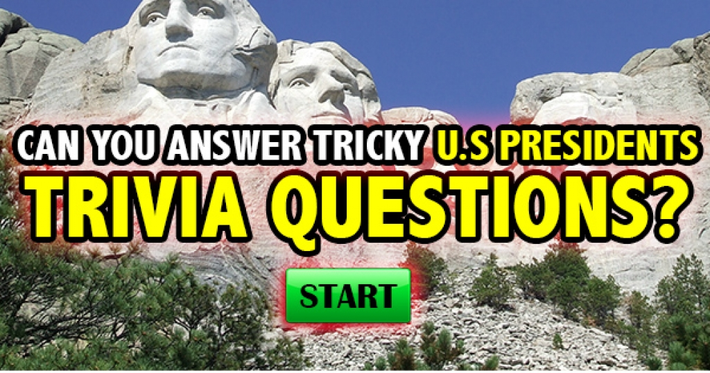 Can You Answer Tricky U.S. President Trivia Questions?