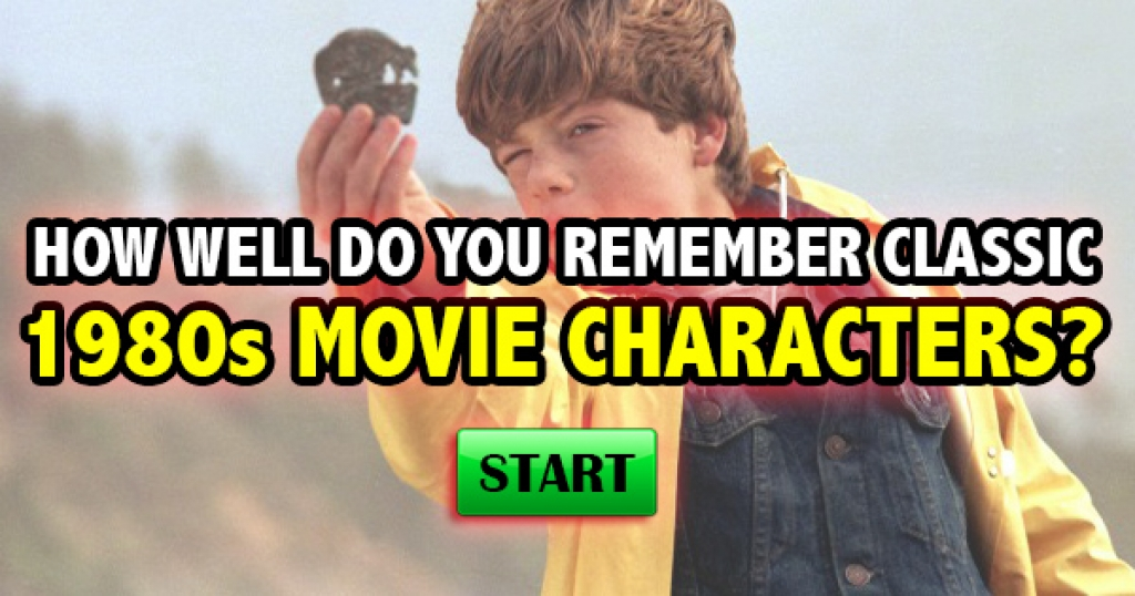How Well Do You Remember Classic 1980s Movie Characters?