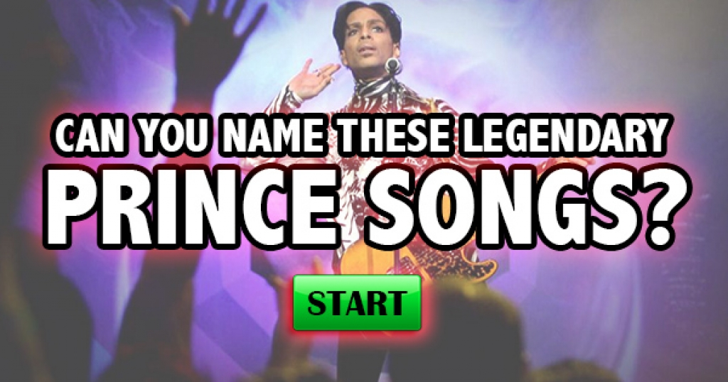 Can You Name These Legendary Prince Songs?