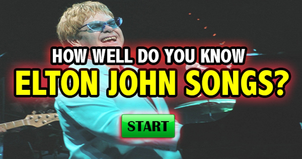 How Well Do You Know Classic Elton John Songs?