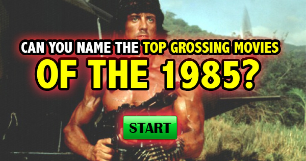 Can You Name The Top-Grossing Movies of 1985?