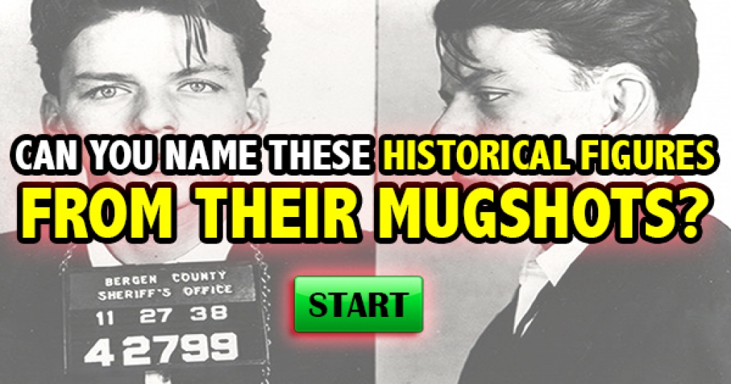 Can You Name These Historical Figures From Their Mugshots?