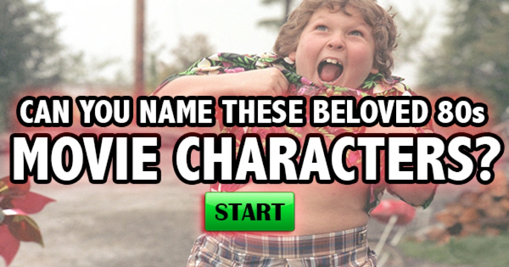 Can You Name These Beloved 80s Movie Characters?