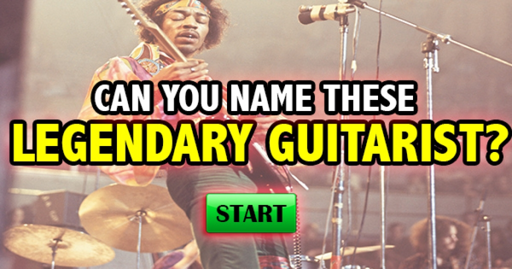 Can You Name These Legendary Guitarists?