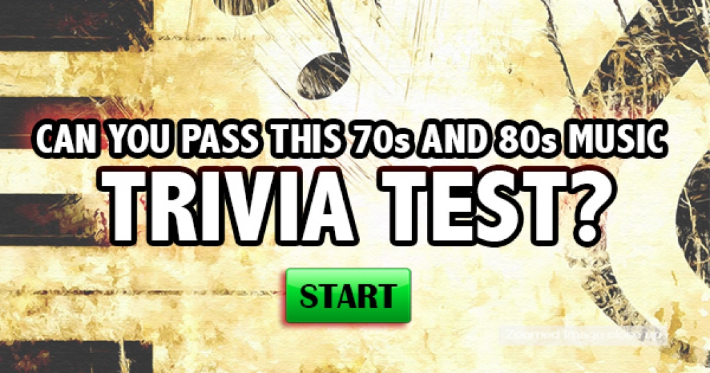 Can You Pass This 70s And 80s Music Trivia Test