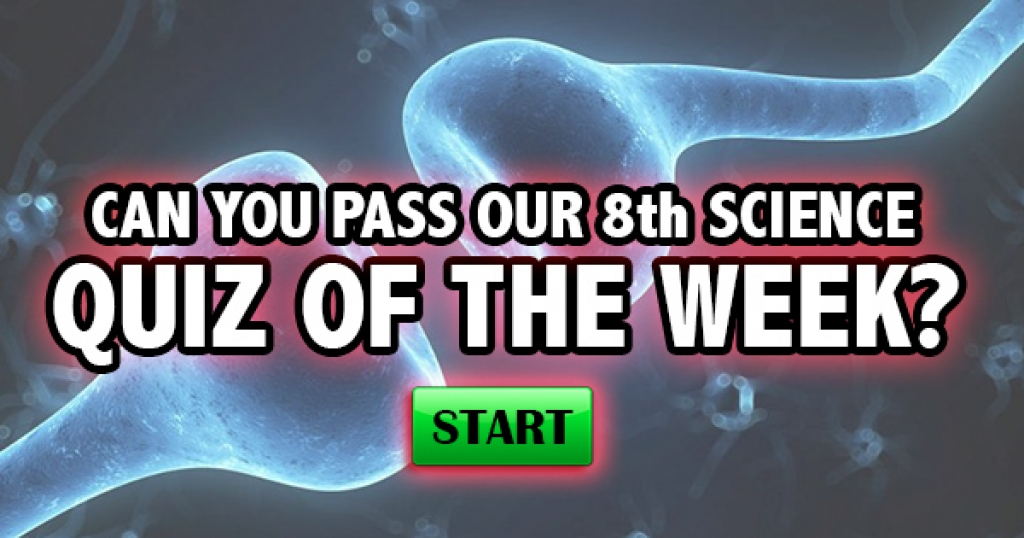 Can You Pass Our 8th Science Quiz Of The Week?
